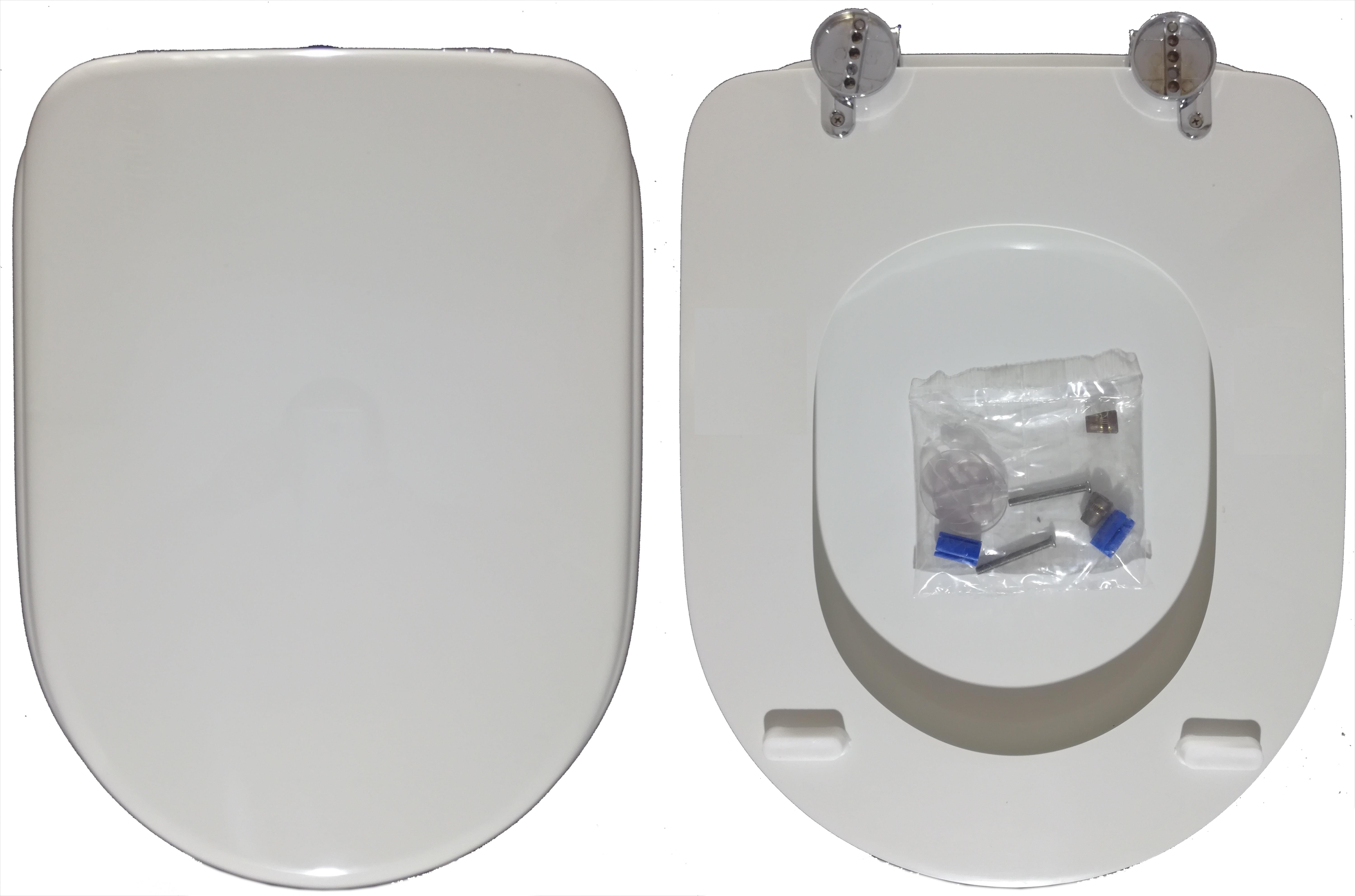 Sedile Wc Disabili Ideal Standard.Copriwater Esedra Ideal Standard Copriwater Misure