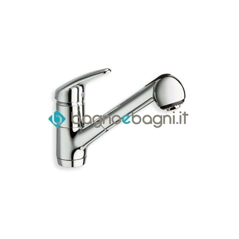 KK 525 Miscelatore monocomando con leva laterale destra per cucina cristina  rubinetterie